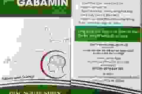 Gabamin 300: Đem lại giấc ngủ tự nhiên, tăng cường trí nhớ