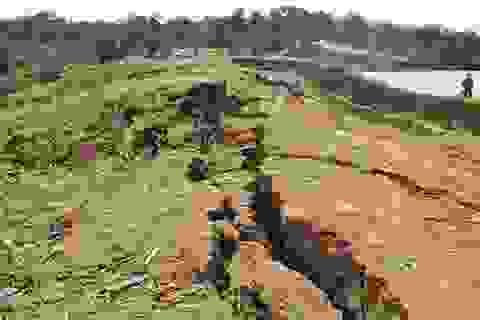 Đề nghị giám định nguyên nhân sụt lún hồ thủy lợi Ea Mrông