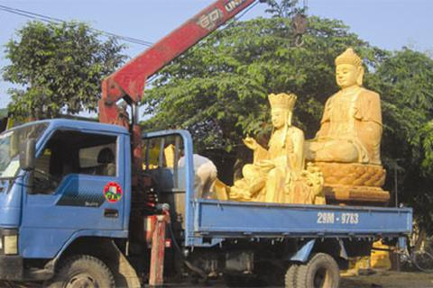 """Lạ lùng làng điêu khắc """"độc nhất vô nhị"""" ở Hà thành"""