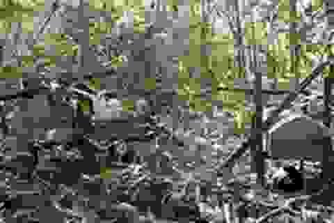 Đi tìm bóng dáng quan tài treo của người Giẻ Triêng ở Kon Tum