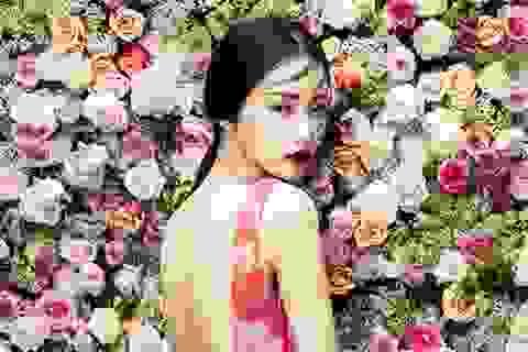 Siêu mẫu Hàn khoe nét yêu kiều trong thiết kế Việt