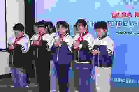 Ra mắt cuộc thi Olympic tiếng Anh trên di động