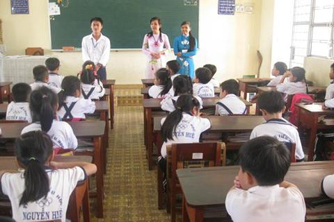 Sinh viên Sư phạm sẽ được rèn kỹ năng ở các trường thực hành
