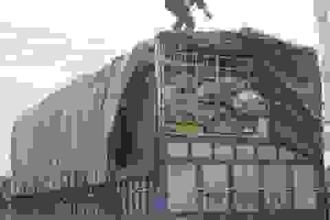 Xe chở 15 tấn xương động vật thối vẫn có giấy kiểm dịch