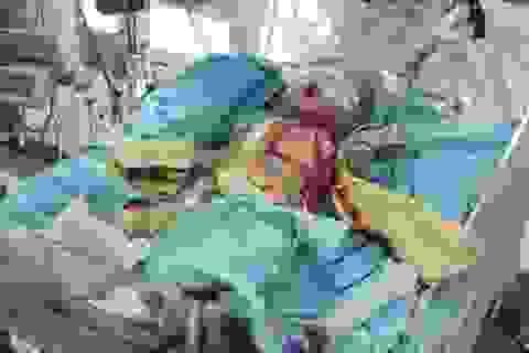 Bé 4 tháng tuổi chống chọi với bệnh tim hiểm nghèo