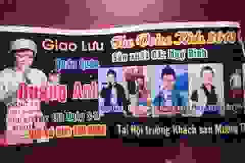 Tự ý bán vé thu tiền tại đêm giao lưu Quán quân The Voice Kids