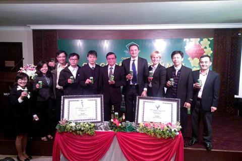 Bia Huế đạt huy chương Bạc cuộc thi Vô địch bia thế giới 2013