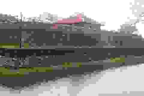 Tu bổ Đài phòng thủ cuối cùng của Hoàng thành triều Nguyễn