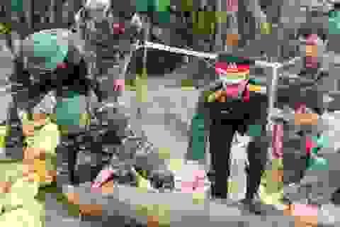 Xử lý quả bom còn nguyên ngòi nổ, sức sát thương hơn 1.000m