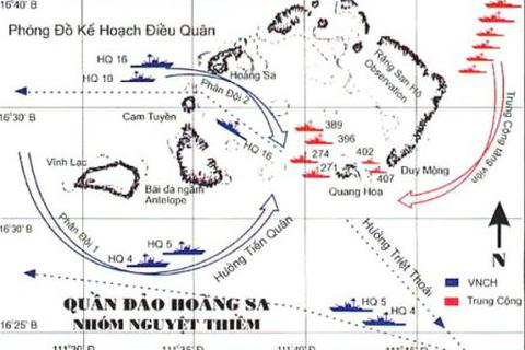 Điều chưa từng kể về trận tử thủ trên đảo Hoàng Sa