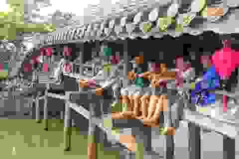 Thân thương phiên chợ quê bên cầu ngói Thanh Toàn