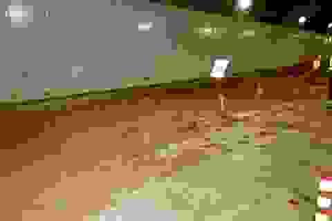 Đường hầm sông Sài Gòn đóng cửa 5 giờ vì bùn
