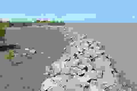 60 tỷ đồng xây bờ kè khẩn cấp chống vỡ đê biển
