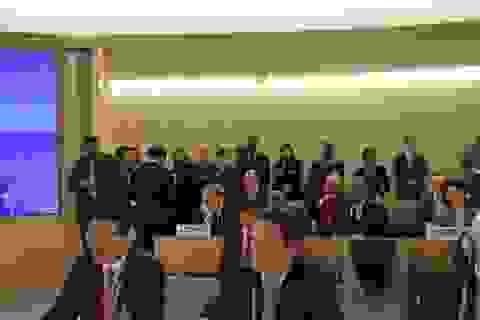 Việt Nam tham gia tích cực công việc chung của Hội đồng Nhân quyền LHQ