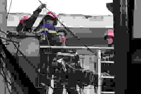 Mắc kẹt trong căn nhà cháy, 2 người thiệt mạng