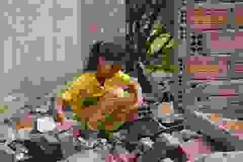 Xã nghèo tan hoang như… bãi phế liệu sau trận lốc xoáy