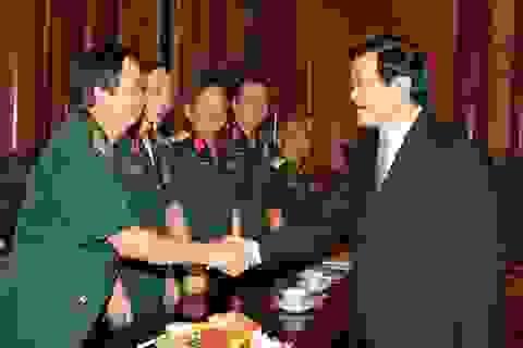 Chủ tịch nước tiếp đoàn đại biểu Hội Truyền thống Trường Sơn