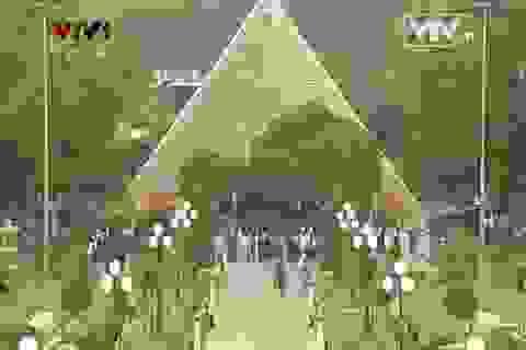 Lễ dâng hương kỷ niệm 60 năm chiến thắng Điện Biên Phủ
