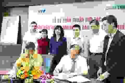 Báo điện tử Dân trí và VTV Online thỏa thuận hợp tác toàn diện