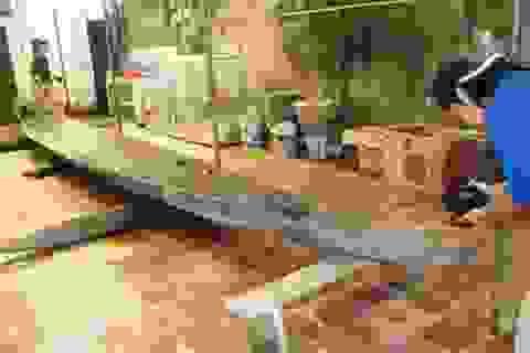 Phát hiện chiến thuyền cổ ở sông Đuống