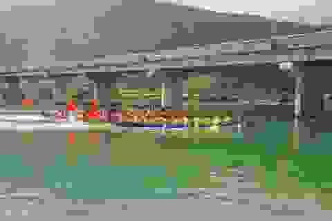 Khai hội đua thuyền trên vịnh đẹp thế giới