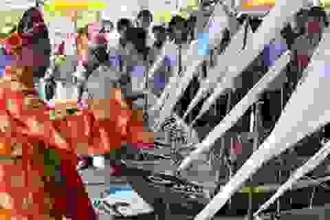 Lưu giữ truyền thống lễ Khao lề thề lính Hoàng Sa