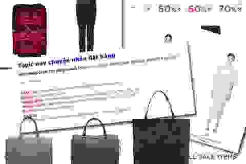 Cười ra nước mắt với thời trang online