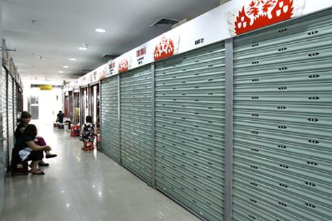 Nhiều trung tâm thương mại đóng cửa vì lỗ