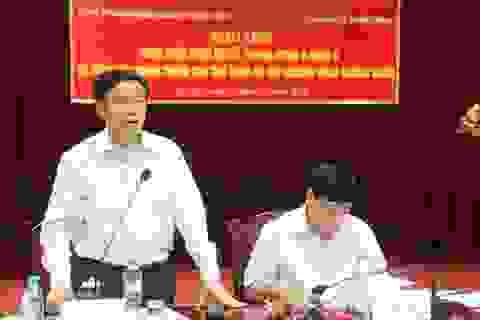 Trưởng Ban Kinh tế Trung ương làm việc với 25 tập đoàn, tổng công ty Nhà nước