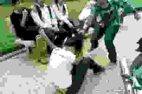 Khi học trò nhởn nhơ trước nạn bạo lực học đường