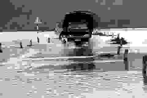 Mưa lớn, nước sông dâng cao, nhiều vùng ngập nặng