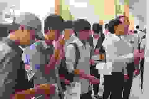 Không thay đổi cụm thi Phú Yên