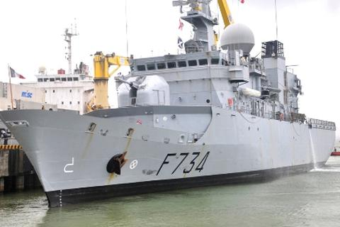 Tàu tuần dương hạm Hải quân Pháp thăm hữu nghị Đà Nẵng