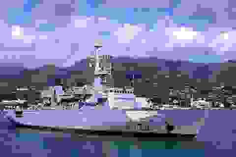 Tàu tuần dương hạm Hải quân Pháp sắp đến Đà Nẵng