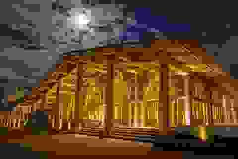 Khánh thành khu nghỉ dưỡng có kiến trúc nhà tre lớn nhất Việt Nam