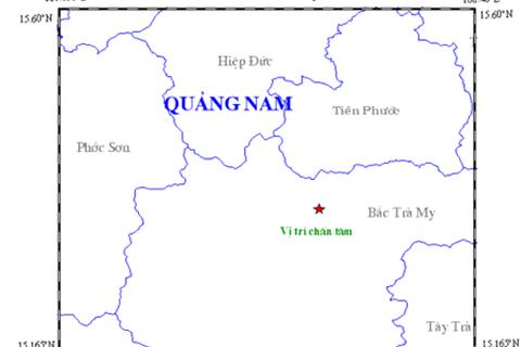 Động đất 2,7 độ richter ở thủy điện Sông Tranh 2