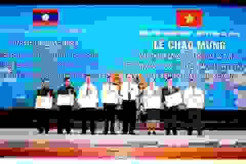 Hoàn thành cắm mốc biên giới đoạn Quảng Nam - Sê Kông
