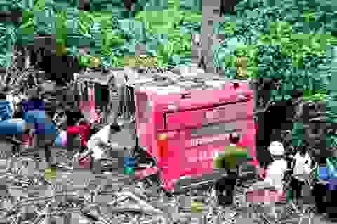 Xe khách lao xuống vực bị mất tín hiệu giám sát suốt 4 tiếng