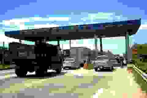 Tạm dừng thu phí tại trạm Tam Kỳ từ ngày 20/7