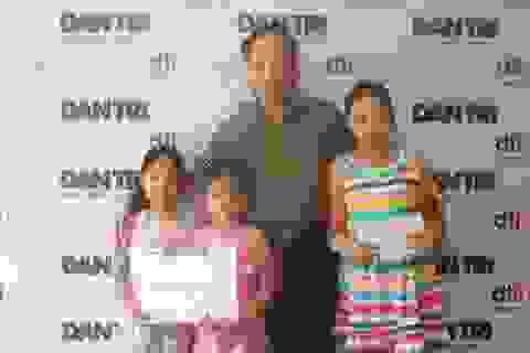3 học sinh Trường tiểu học Kim Liên tiếp tục ủng hộ 12 triệu đồng giúp đỡ người hoạn nạn