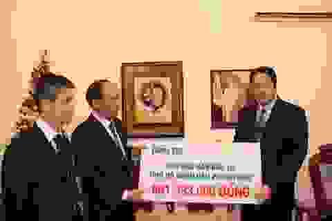 Bạn đọc Dân trí sẻ chia với người dân Philippines 861.993.000 đồng