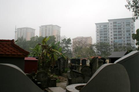 Căn hộ hạng sang view chuẩn nghĩa địa