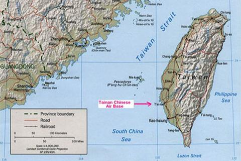 Trung Quốc sửa đường bay trên eo biển Đài Loan sau khi bị phản đối