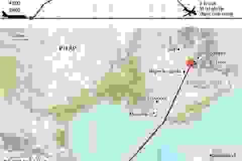 [Infographics] Chuyến bay Germanwings 4U 9525 gặp nạn như thế nào?