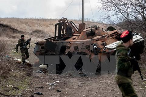 OSCE phát hiện vũ khí của quân đội Ukraine ở Volnovakha
