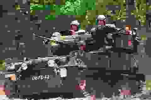 Anh điều xe thiết giáp đến miền đông Ukraine