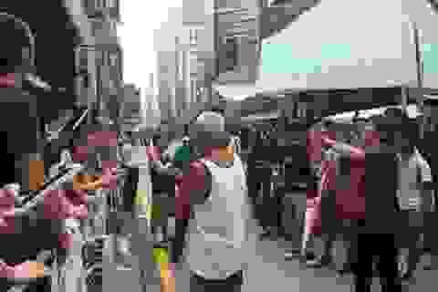 Hong Kong sẵn sàng cho hành động tại Mong Kok vào sáng 25/11