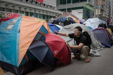 Le Figaro: Bắc Kinh toàn thắng trước người biểu tình Hong Kong