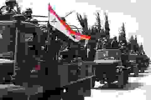Quân đội Syria liên tiếp tái chiếm các mỏ khí đốt từ tay IS