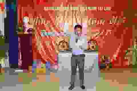 Lưu học sinh Việt Nam tại Lào đón Tết cổ truyền Ất Mùi